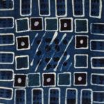 Indigo pattern batik