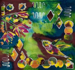 bird batik