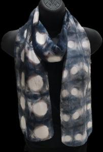 b&w scarf