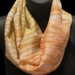 orange & yellow pole wrap