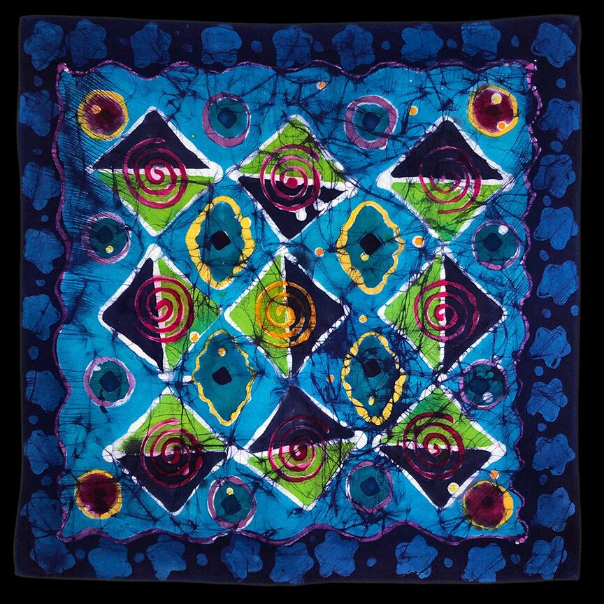 Diamond batik